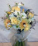 Summer Flowers Bouquet, Sunflowers, Daisies, Roses...